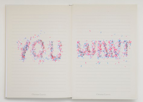 Christian Lacroix B5   Love Who You Want - Hardbound Journal 01098