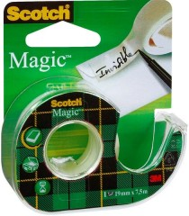 3M Scotch®  Magic Bant, Kesicili, 19Mm X 7,5M  (8-1975D)