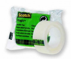 3M Scotch®  Magic Bant, Tekli Poşet, 19Mm X 7,5M  (8-1975R24)