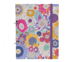 Liberty Of London A5 Small Susanna - 2-Rng Binder + 3 Stitched Notebooks 01188