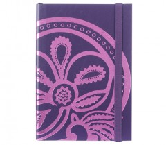 Liberty Of London A5 Tanjore Lotus - Embossed Foil Notebook 01190