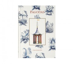 Architectural Watercolors B5 Pagodas/a Year Of Watercolors - Hardbound Journal 01063