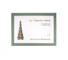 Architectural Watercolors The Oriental Tower - Boxed Correspondence Cards 01096