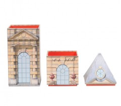 Architectural Watercolors The Tower - Stacking Boxes 01134