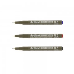 Artline 233 Çizim Kalemi 0,3 Mm