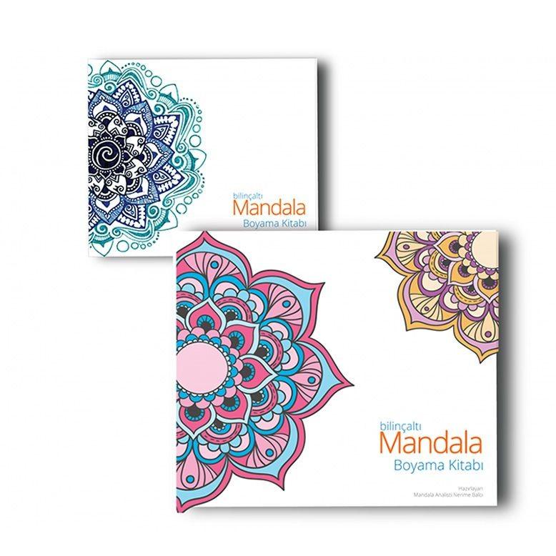 Bilinçaltı Mandala Boyama Kitabı