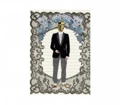 Christian Lacroix A5   Mexico City - Layflat Notebook 01053