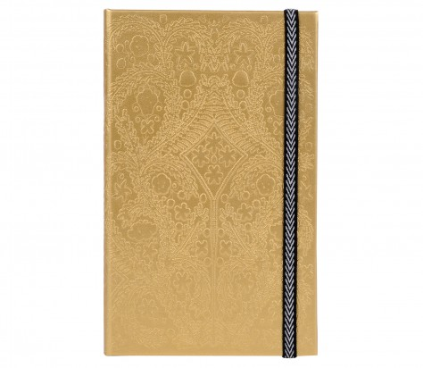 Christian Lacroix A5  Paseo - Slim Hardbound Journal - Gold 01176