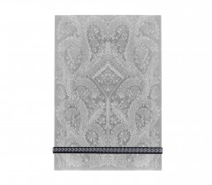 Christian Lacroix A6   Paseo - Embossed Notepad - Silver 01113
