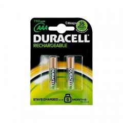 Duracell AAA Rechargeable Pil 750 Mah. 4'lü Kart