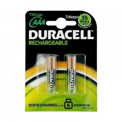 Duracell Aaa Rechargeable Pil 850 Mah. 4'lü Kart İnce Pil