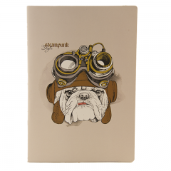 Fabio Ricci Handy Steam Punk Desenli Defter