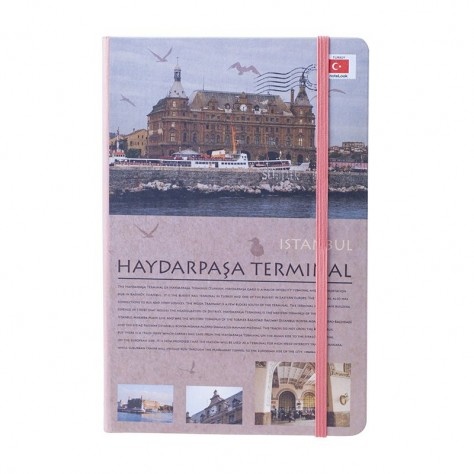 Scrikss Travel Around Turkey Haydarpaşa A5 Defter