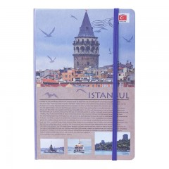 Scrikss Travel Around Turkey İstanbul A5 Defter