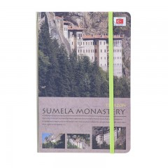 Scrikss Travel Around Turkey Sümela A5 Defter