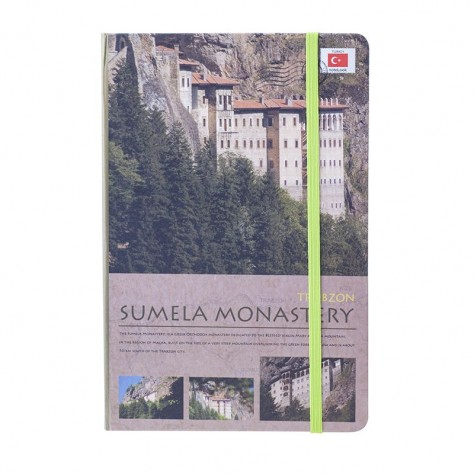 Scrikss Travel Around Turkey Sümela A5 Defter - Çizgili