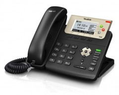 Yealink Sip-T23P Ip Phone 132X64-Pixel Lcd, 2Xport(Poe), Wall Mountable,3 Sip Accounts, With Psu